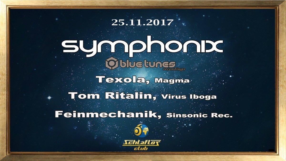 Party flyer: Klangkraft W/Symphonix 25 Nov '17, 23:00