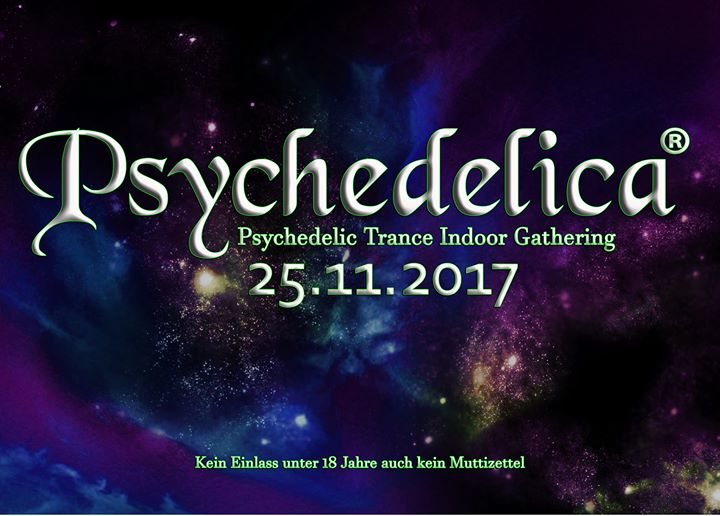 Party flyer: Psychedelica on Tour 25 Nov '17, 21:00