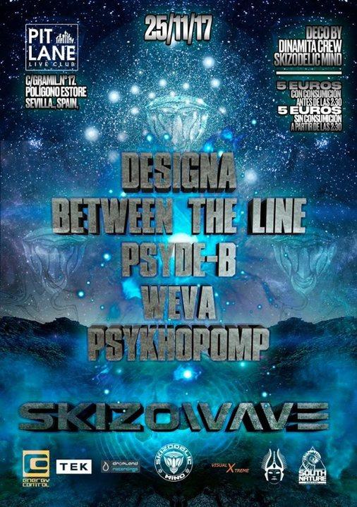 Skizodelic Mind Presenta: SkizoWave 25 Nov '17, 23:30