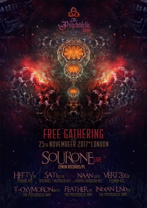 The Psychedelic Way free gathering 25 Nov '17, 22:00