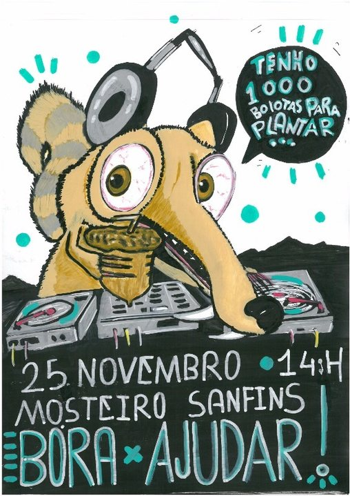 Party flyer: Vamos plantar mil bolotas!! 25 Nov '17, 18:00