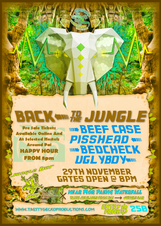 Back To The Jungle 29 Nov '17, 19:00