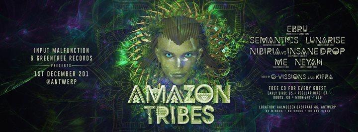 Amazon Tribes 1 Dec '17, 22:00