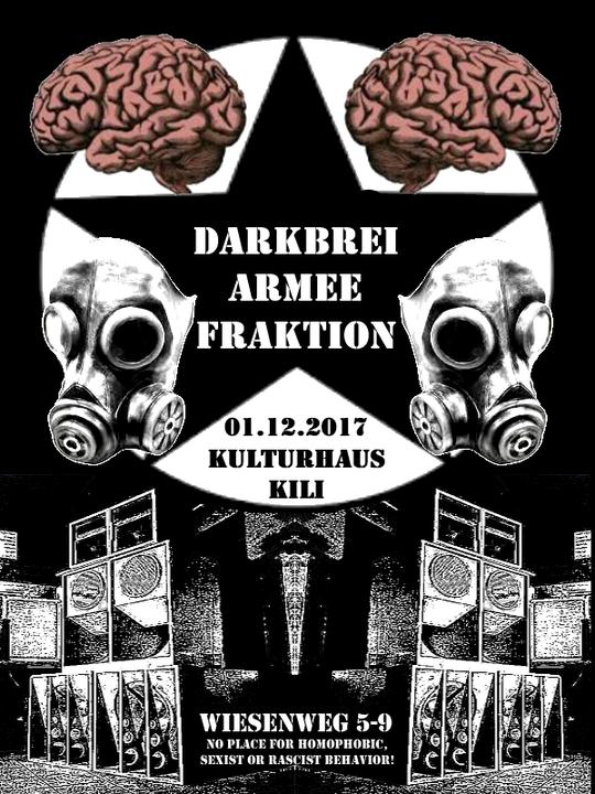 Party flyer: Darkbrei Armee Fraktion 1 Dec '17, 23:00