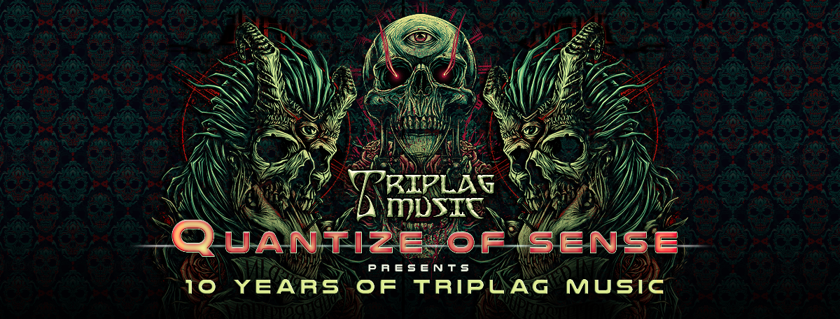 Party flyer: Quantize of Sense pres. 10 Years of TRIPLAG Music 1 Dec '17, 23:00