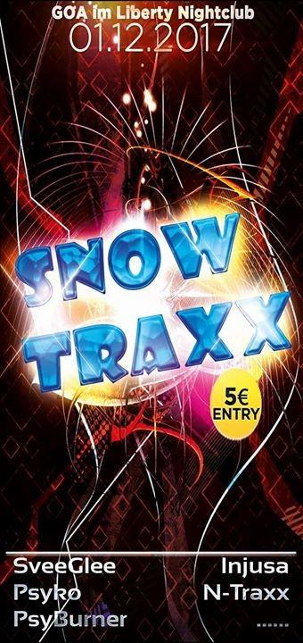 Party flyer: ☆☆☆SnowTraxx☆☆☆ 1 Dec '17, 23:00