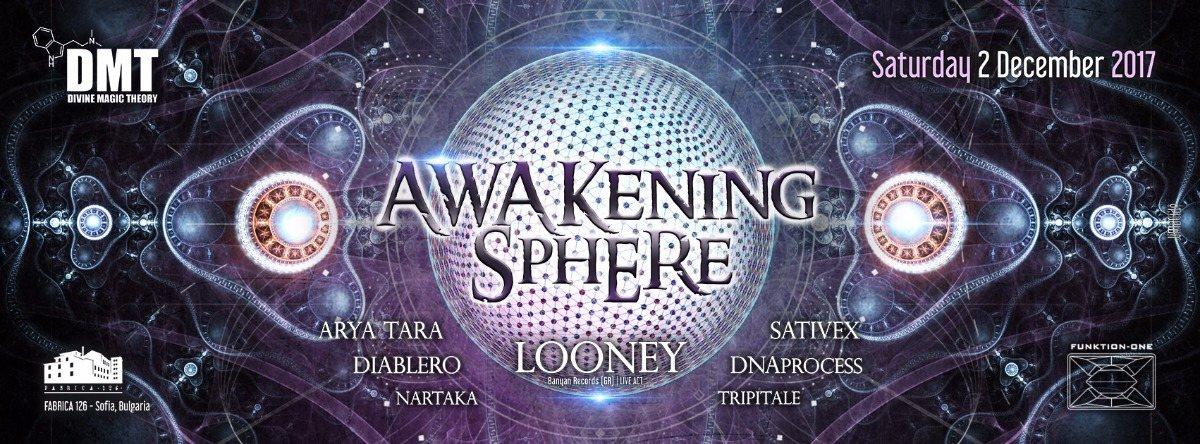 Party flyer: Divine Magic Theory: Awakening Sphere 2 Dec '17, 22:00