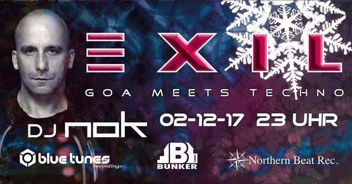 Exil - Goa meets Techno - NOK 2 Dec '17, 23:00
