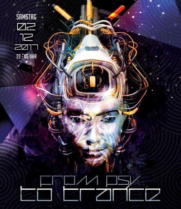 Party flyer: Psy - Trance 2 Dec '17, 22:00
