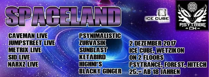 ۩۞۩ SpaceLand ۩۞۩ 2 Dec '17, 22:00
