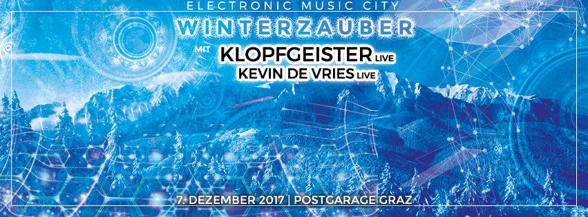 EMC Winterzauber mit Klopfgeister und Kevin de Vries 7 Dec '17, 23:00
