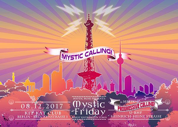 Party flyer: Mystic Friday meets Progressive Calling 8 Dec '17, 23:00