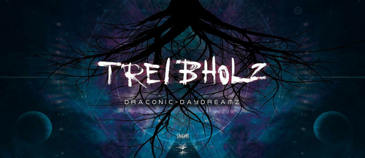 Party flyer: Treibholz VI - Draconic Daydreamz (Sangoma Special) 8 Dec '17, 21:00