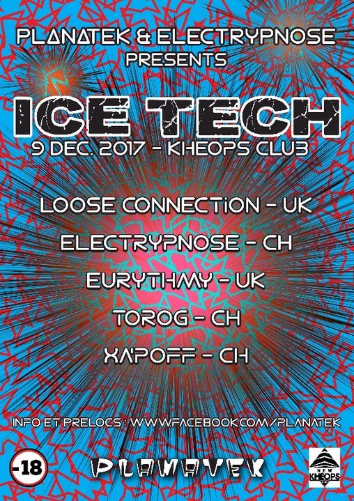 Ice Tech (psy to hitech) 9 Dec '17, 20:30