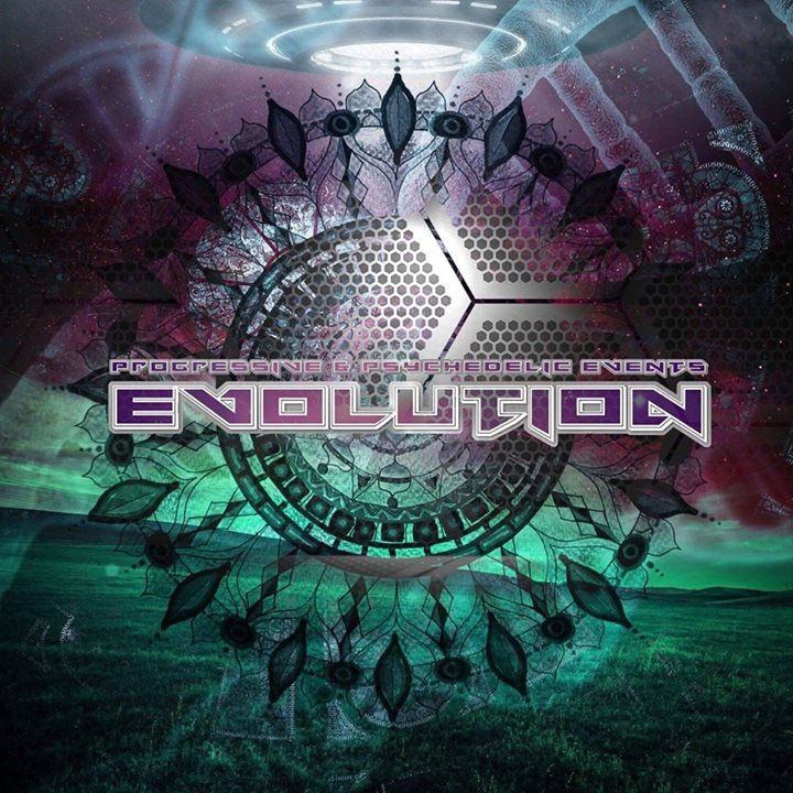Party flyer: ॐ Evolution w/ Rinkadink (MXV South Africa) Live ॐ / Uvm. 15 Dec '17, 22:00