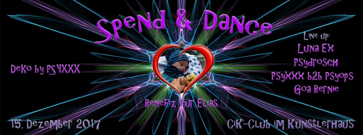 Spend & Dance Benefiz 15 Dec '17, 22:00