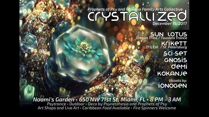 Crystallized 16 Dec '17, 20:00