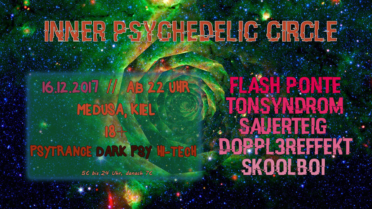 Inner Psychedelic Circle 16 Dec '17, 22:00