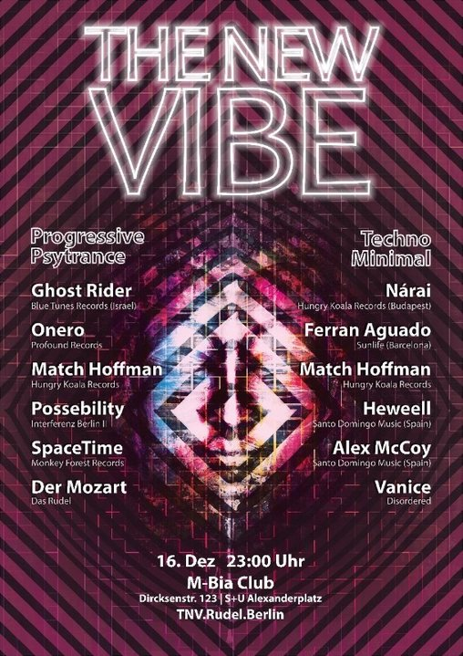 The New VIBE w. Ghost Rider 16 Dec '17, 23:00