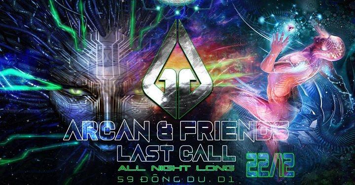 ARCAN & Friends - All night long 22 Dec '17, 23:00