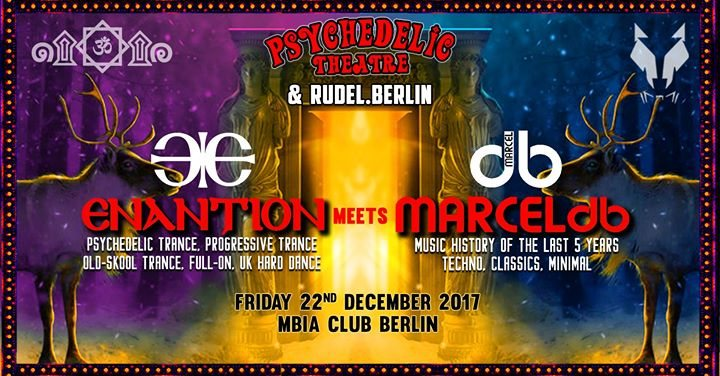 Enantion meets Marcel db 22 Dec '17, 23:00
