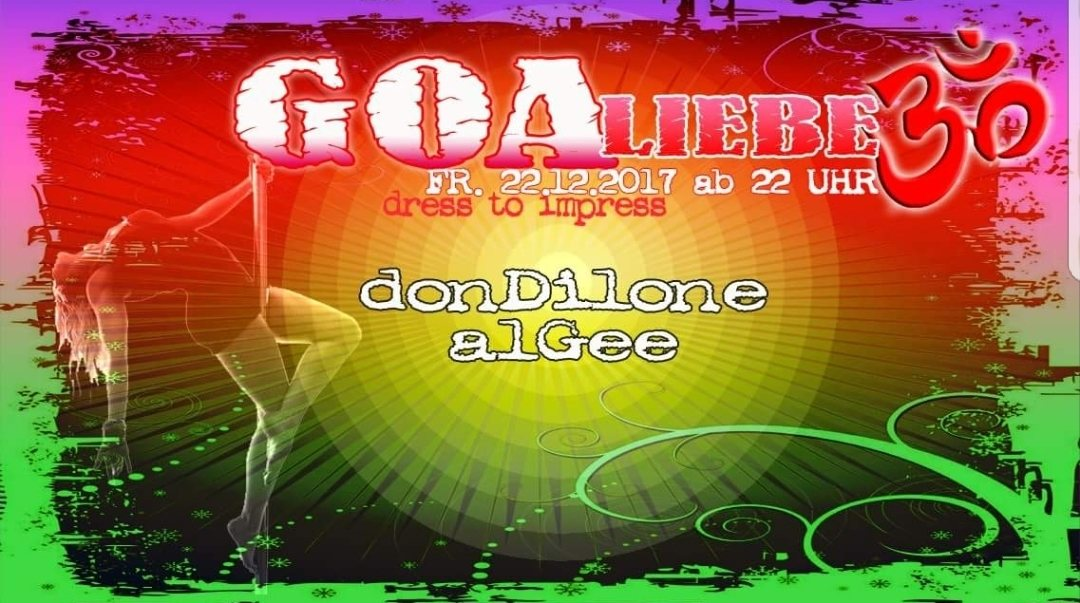 Goa Liebe 22 Dec '17, 22:00