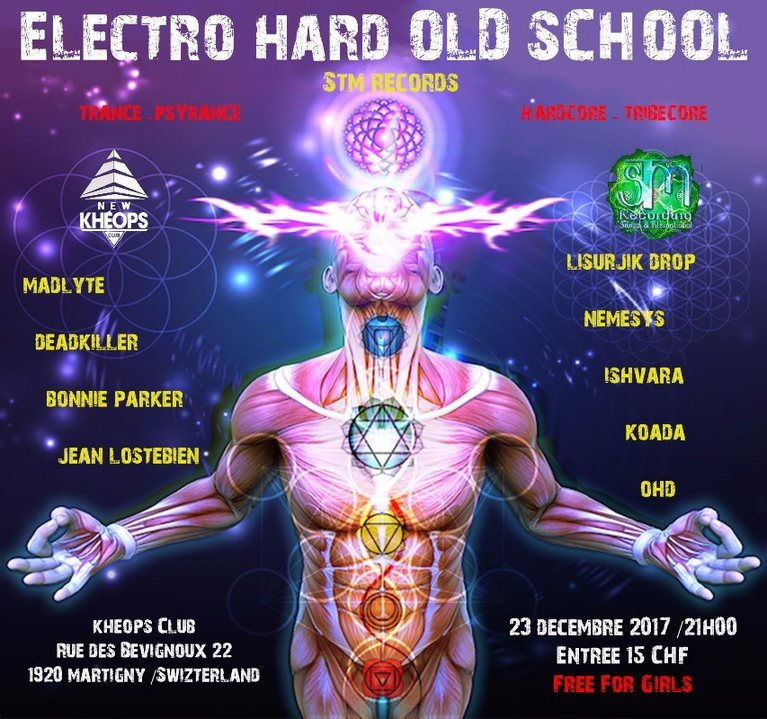 ELECTRO HARD OLD SCHOOL 23 Dec '17, 21:00