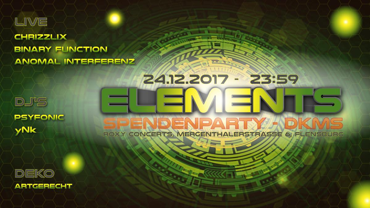 Elements - Xmas Special 24 Dec '17, 23:59