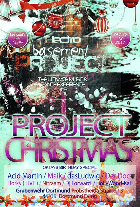 Project Christmas 24 Dec '17, 21:00