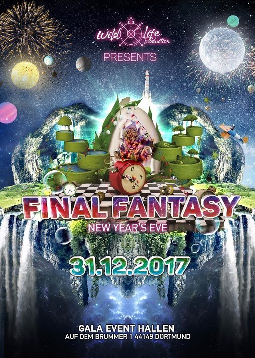Final Fantasy w/ Outsiders, Day.Din, Hujaboy & Mimesis Deco 31 Dec '17, 20:00