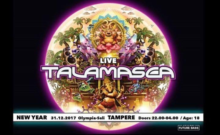 Future Bass New Year Event. w/ Talamasca (LIVE set) 31 Dec '17, 22:00