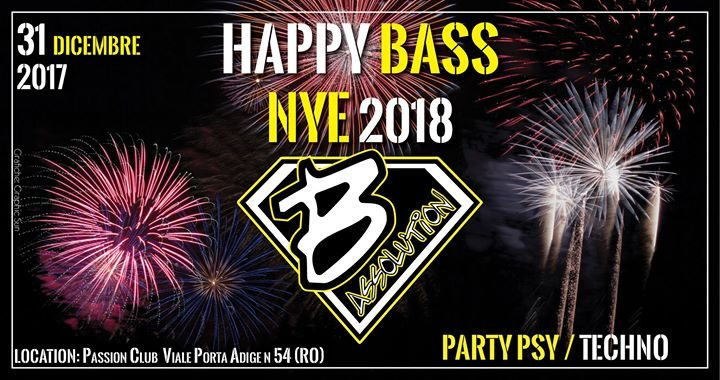 Happy Bass NYE 2018 31 Dec '17, 23:00