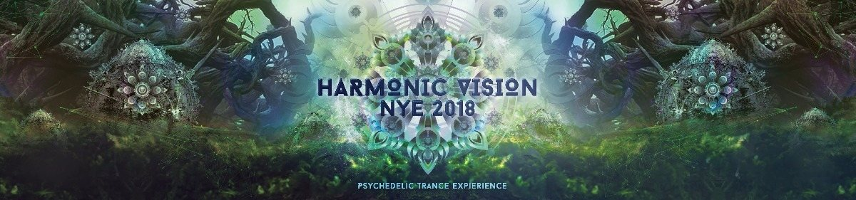Party flyer: HARMONIC VISION 2018 _ 2 STAGE 31 Dec '17, 22:00