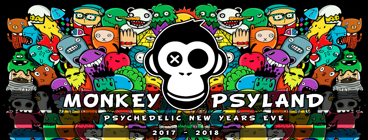 Monkey Psyland - Psychedelic New Years Eve 31 Dec '17, 23:00