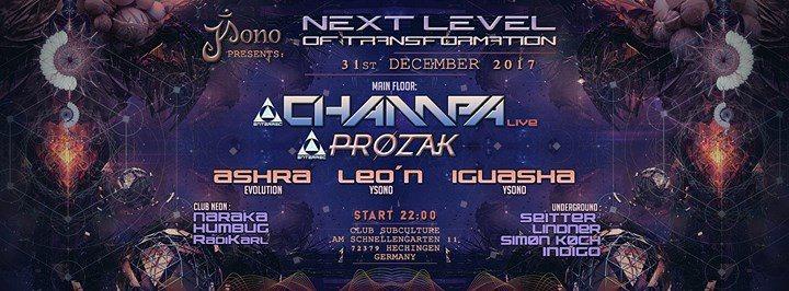 Next Level of Transformation 31 Dec '17, 22:00