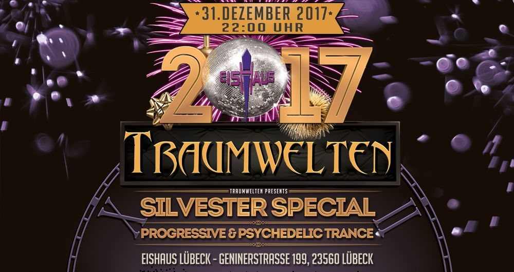 Party flyer: Silvester Special mit Hatikwa Kronfeld Lovegun and more... 31 Dec '17, 22:00