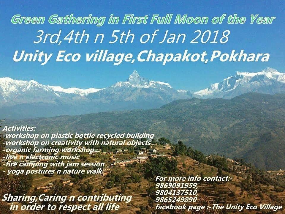 Green Gathering 3 Jan '18, 10:00