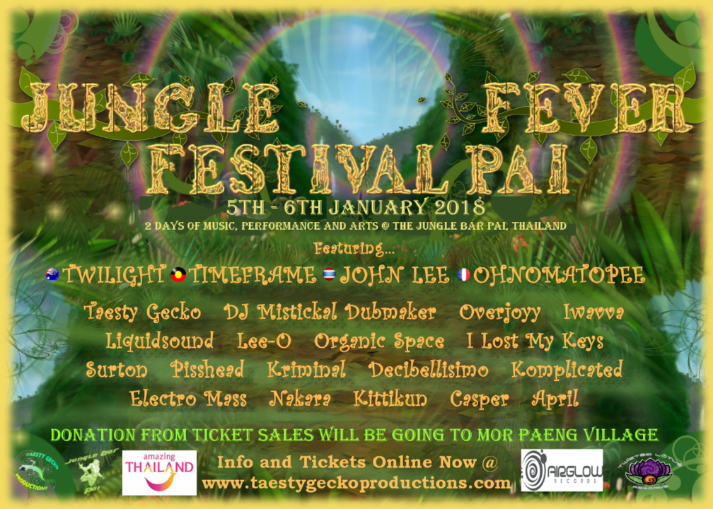 Jungle Fever Festival Pai 5 Jan '18, 14:00