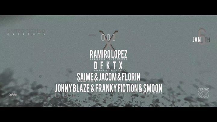 Absolut Techno X Adroit X Electric Zone presents Ramiro Lopez 6 Jan '18, 23:00