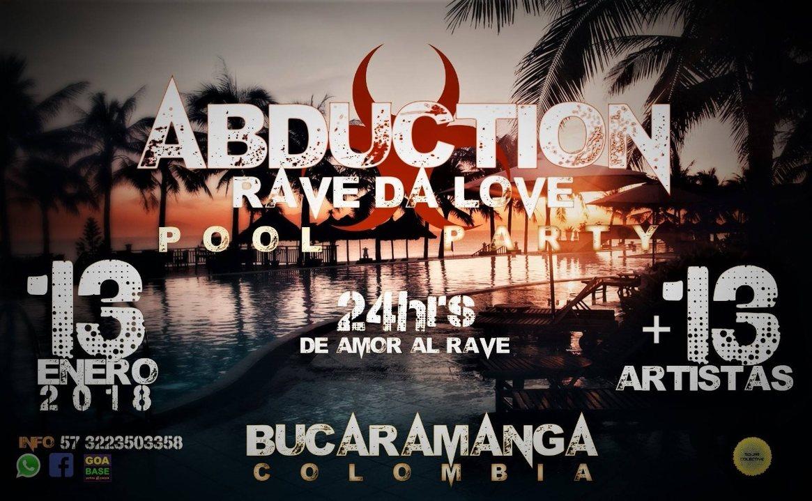 Abduction 2018 Rave da Love 13 Jan '18, 17:00