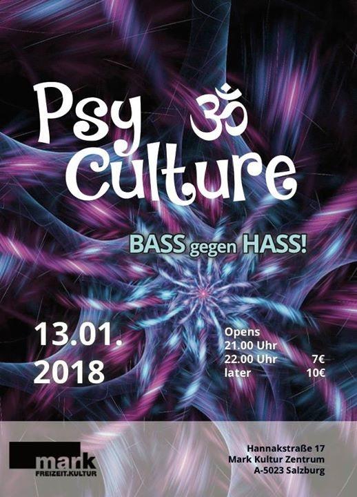 PsyCulture (Bass gegen Hass) #3 13 Jan '18, 21:00
