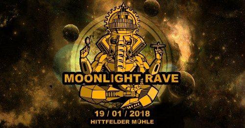 Moonlight Rave 2018 19 Jan '18, 22:00