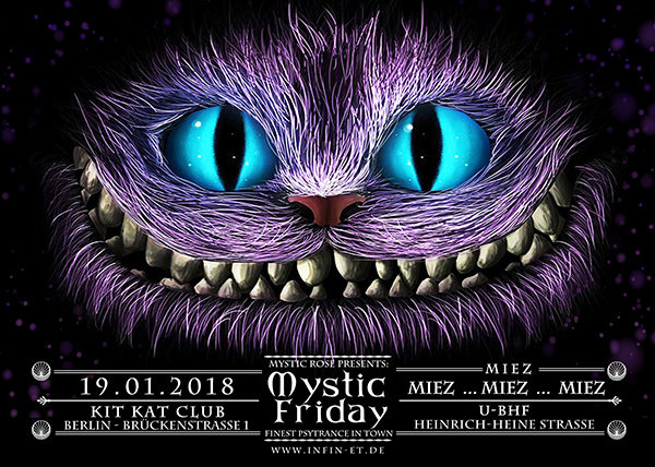 The Mystic Friday 19 Jan '18, 23:00