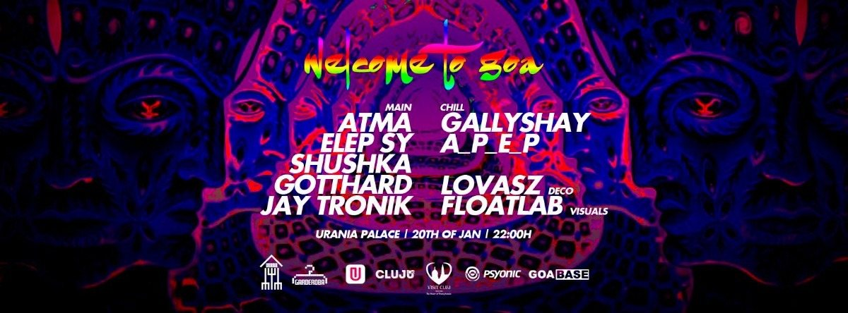 WELCOME TO GOA 16 20 Jan '18, 22:00