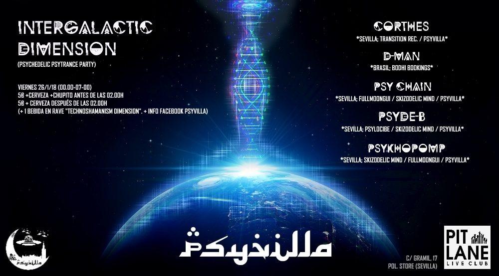 Intergalactic Dimension 26 Jan '18, 23:30