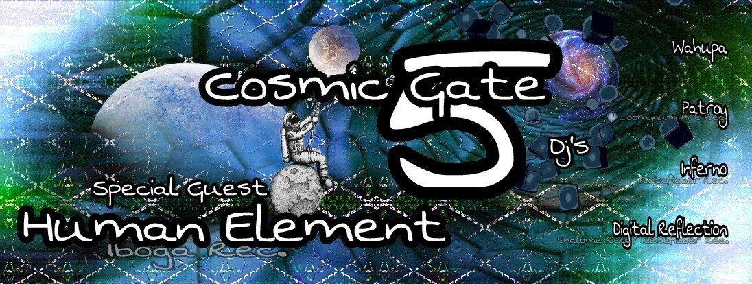 ॐ •:★ COSMIC GATE VOL.5 ★:•ॐ 27 Jan '18, 22:00