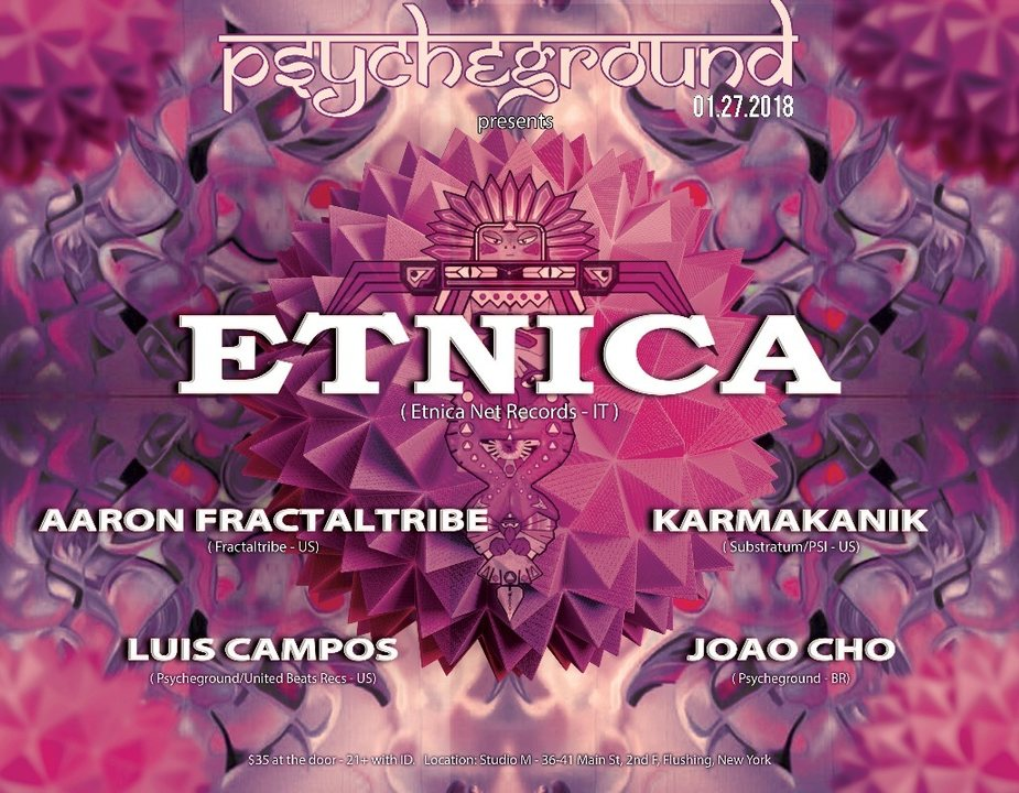 PsYcHeGrOuND presents: Totem with Etnica and guests 27 Jan '18, 22:00