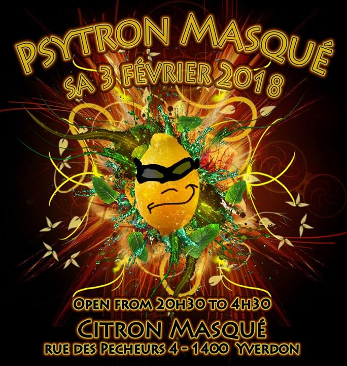 Psytron masqué 3 Feb '18, 20:30