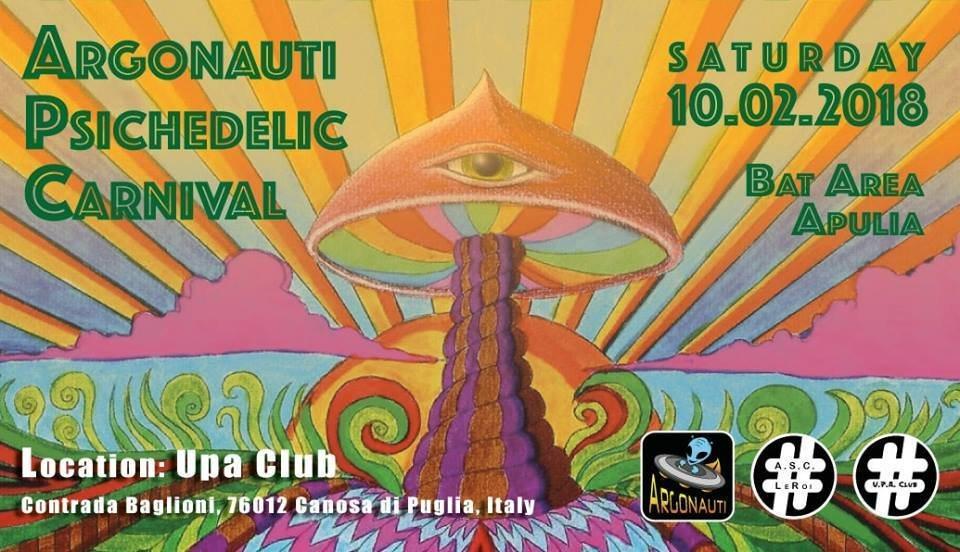 Argonauti Psychedelic Carnival - Psychedelic Trance Party 10 Feb '18, 22:00