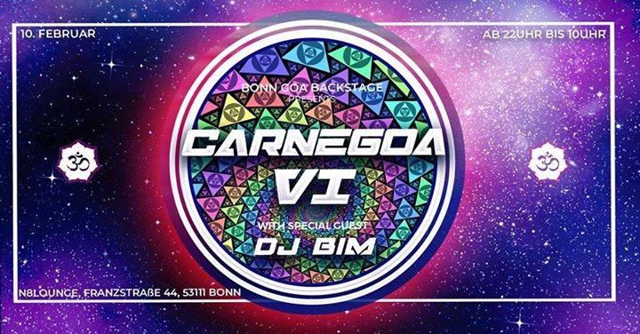 CarneGoa #6 /w BIM 10 Feb '18, 22:00